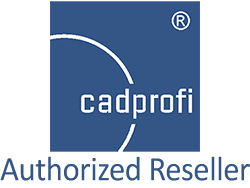 cadprofi logo authorized